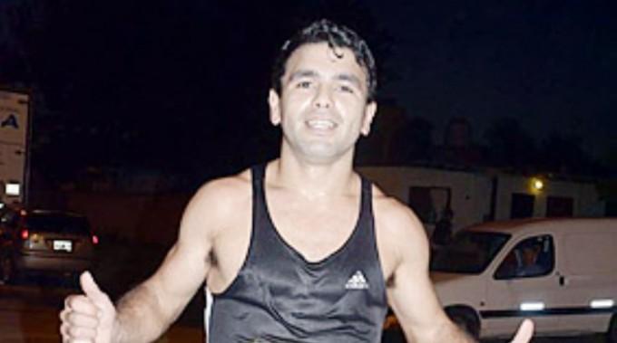 Ezequiel Aguilera, el más rápido de los Reyes Magos en Chivilcoy