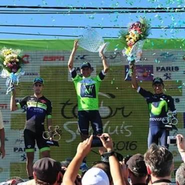 Dayer Quintana  se quedó con el Tour Internacional de San Luis