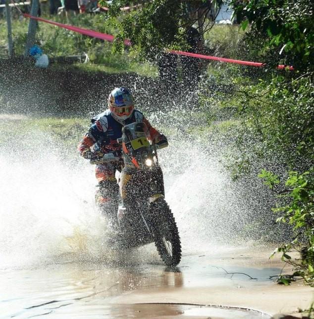 Jorge Lacunza finalizó la segunda etapa ganada por Toby Price