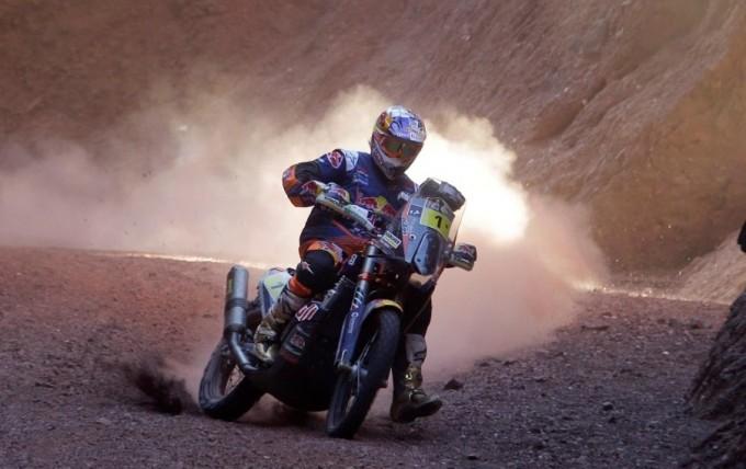 Caída de Toby Price y abandono en el Rally más difícil del mundo