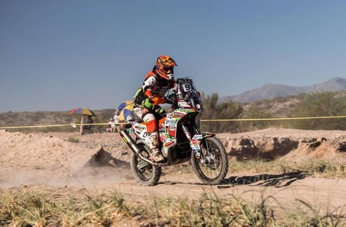 Lacunza no pudo con la cuarta etapa y se despidió de la competencia