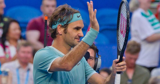 Federer volvió con todo, ganó y fue ovacionado