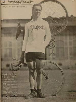 Eugenio Gret primer ganador de la Doble Bragado