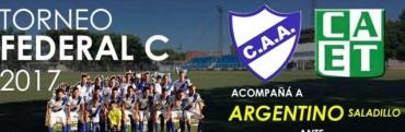 Argentino arranca este domingo con la ilusión del Torneo Federal C
