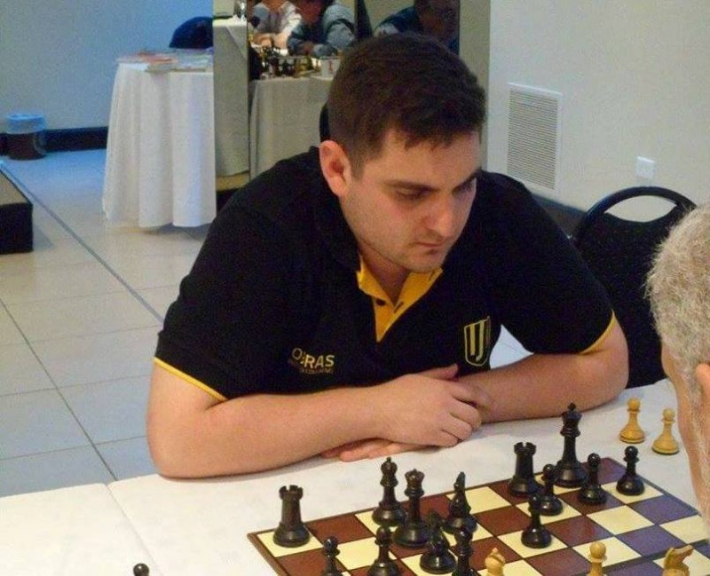 Nelson Lujan y Martín Loiza compitieron en el 6° Abierto Sociedad Italiana de Merlo