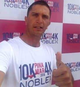 Ariel Rodríguez corrió los 30 km de Uniendo Pueblos en Lobos