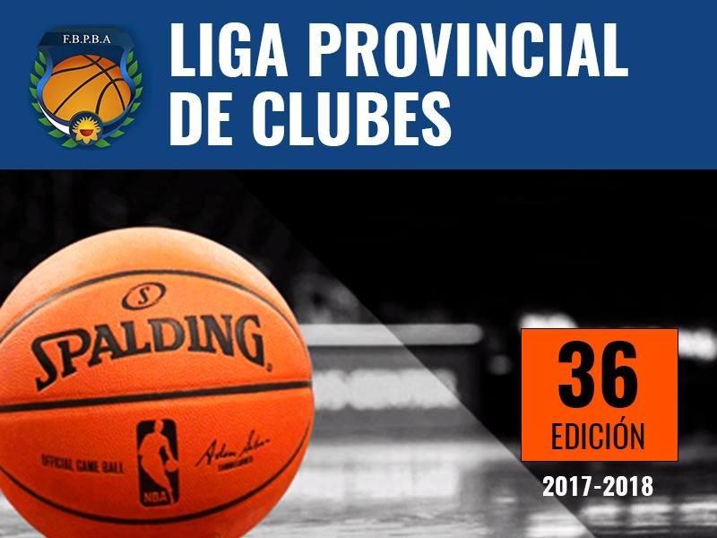 Se jugó la quinta fecha del Provincial de Clubes Mayores de Basquet