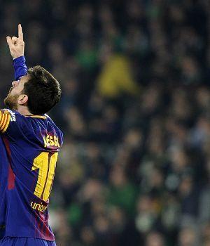 Con doblete de Messi, el Barça mantiene su hegemonía