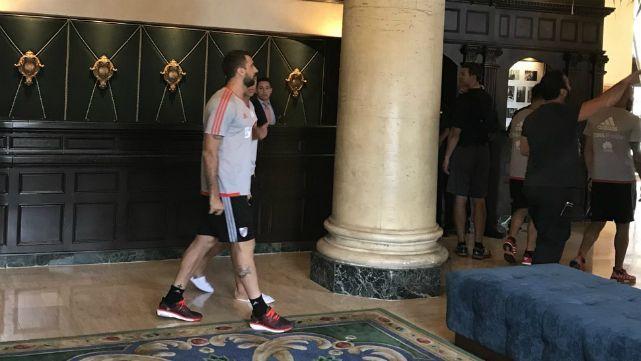 Pratto se sumó a la pretemporada en Miami