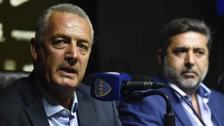 Gustavo Alfaro fue presentado en Boca