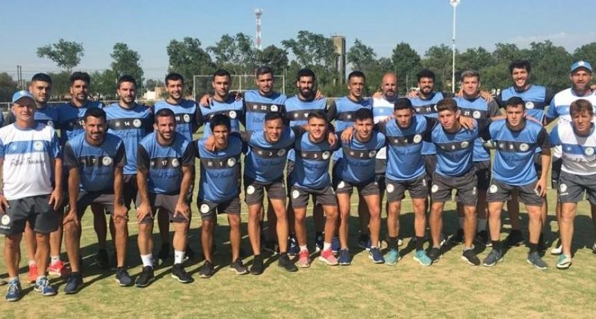Club Ciudad de Bolívar de pretemporada en Saladillo