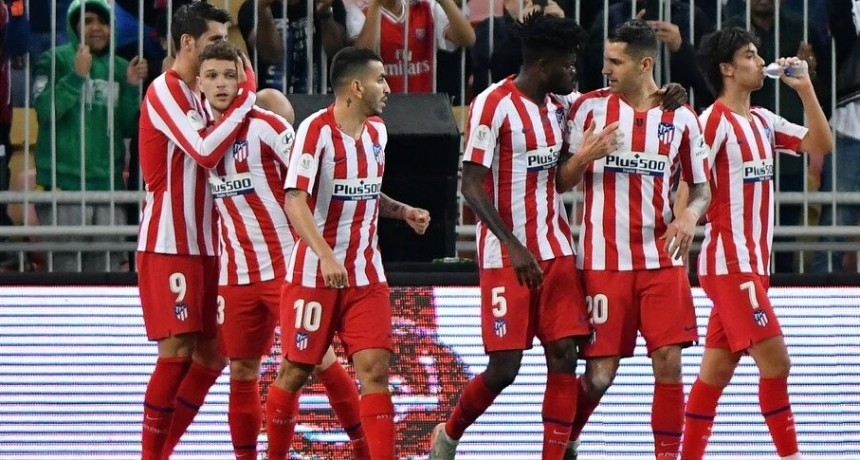 El Atlético Madrid dio vuelta un partido increíble y eliminó al Barcelona de la Supercopa de España