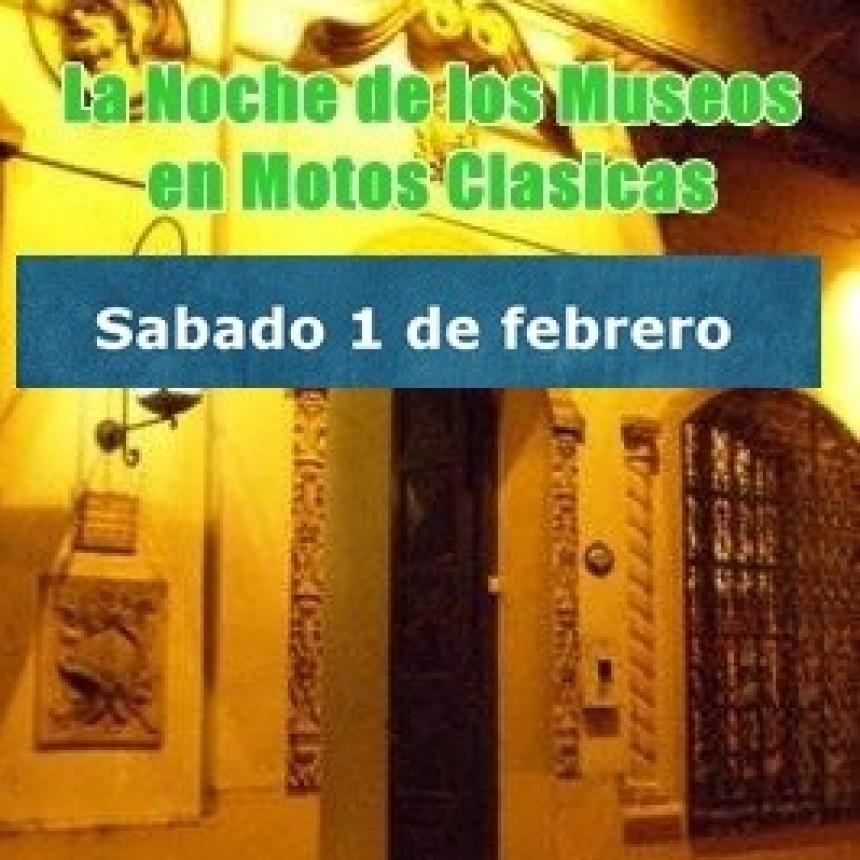 """Para Motos Clásicas y Antiguas: """"La Noche de los Museos"""""""