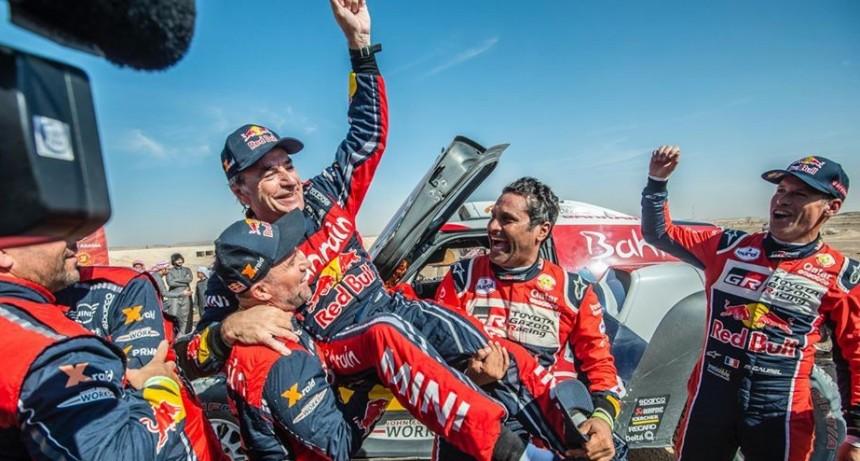 Carlos Sainz es el dueño del Dakar 2020