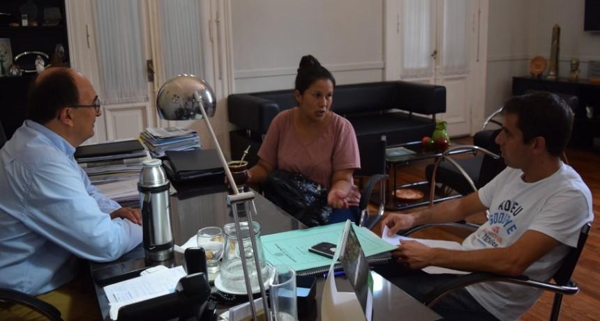 Presidente de Agrupación Ciclista se reunió con Intendente de Saladillo