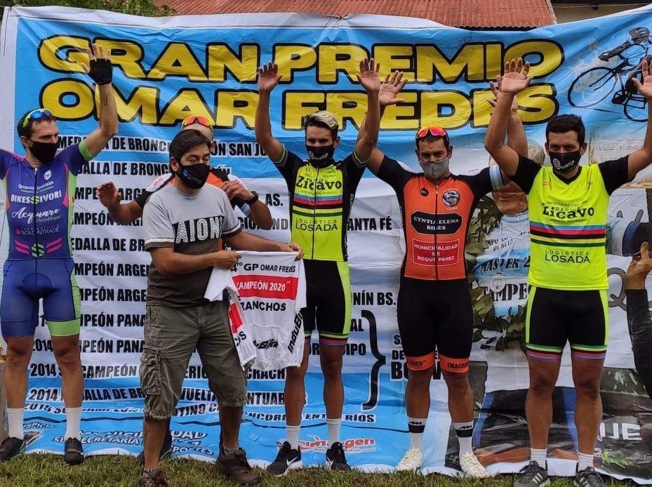 Tercer lugar para Leandro Burgois en Roque Pérez