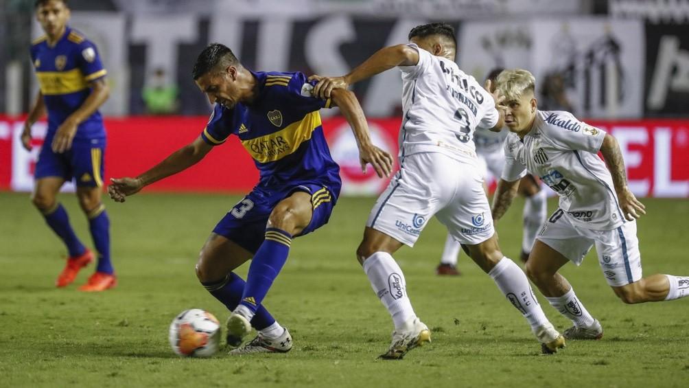 Santos goleó y eliminó a Boca de la Copa Libertadores