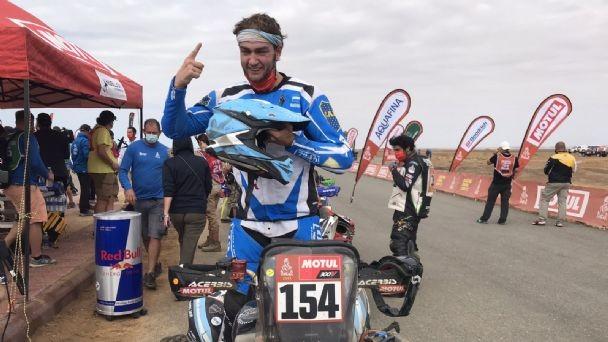 Histórico doble podio argentino: Kevin Benavides y el de Lobos, Manuel Andújar, campeones del Dakar 2021
