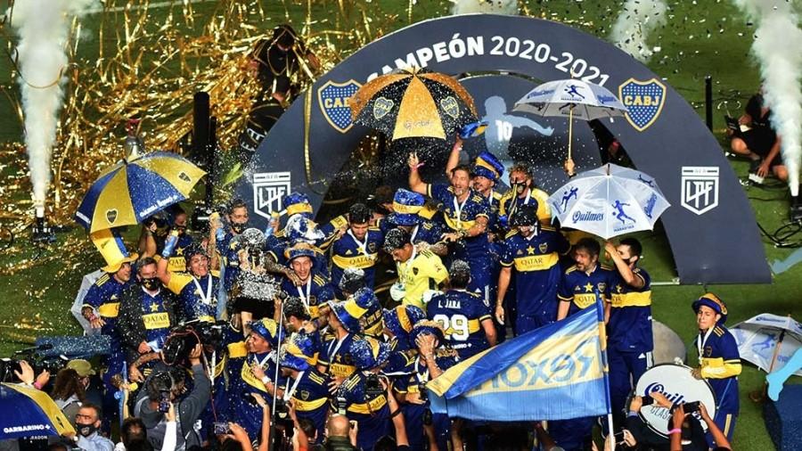 Boca derrotó a Banfield y se consagró campeón de la Copa Diego Armando Maradona