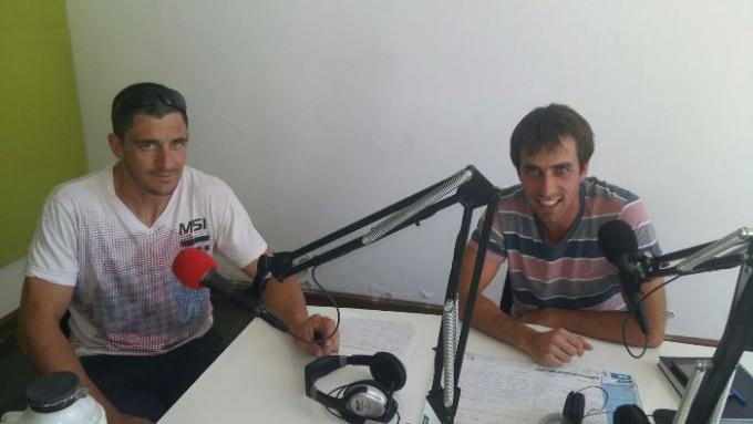 """Mariano Méndez y Nicolás Tosca ponen """"orden"""" en el deporte de Saladillo"""