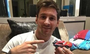 Messi desmiente que haya comprado el Ferrari más caro del mundo