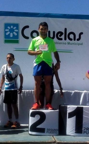 Ezequiel Aguilera fue octavo en los 8K de Cañuelas