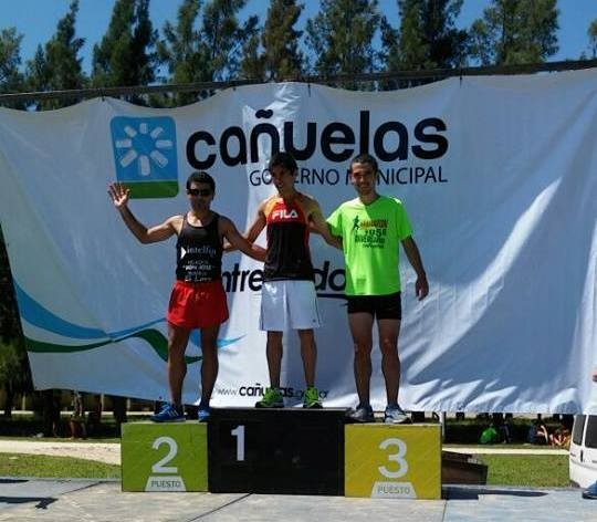 Ezequiel Aguilera fue 5° en el Maratón Aniversario de Cañuelas 2017