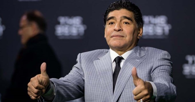 Maradona fue nombrado Embajador de la FIFA