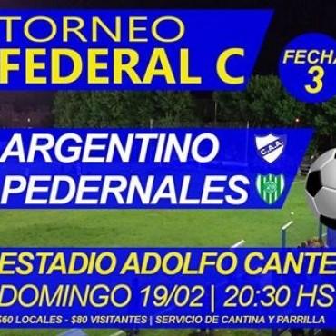 Resultados segunda fecha Torneo Federal C de Fútbol