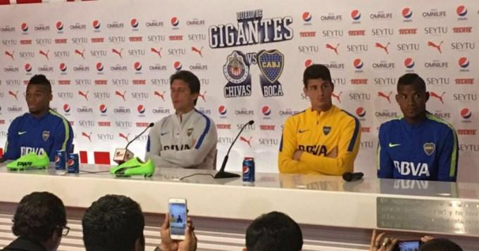 Boca juega con Chivas y hay que pagar para mirarlo