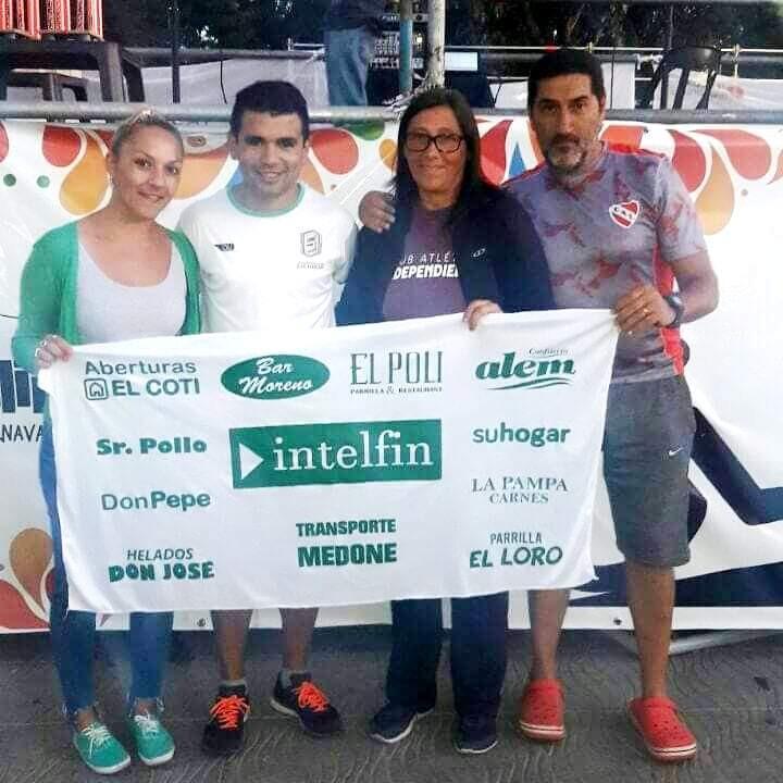 """Ezequiel Aguilera finalizó quinto en el """"Maratón del Carnaval"""" en Lincoln"""