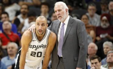 Ginóbili se volvió a lesionar y encendió las alarmas en San Antonio Spurs