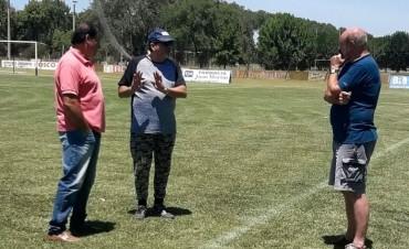 Enviado del Aprevide inspeccionó estadios en Saladillo
