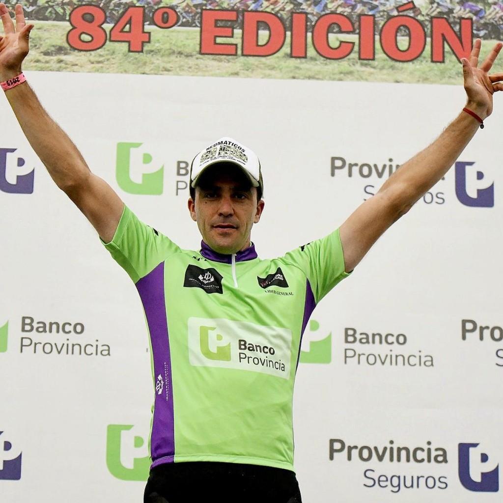 Anibal Borrajo se quedó con la sexta etapa de la Doble Bragado