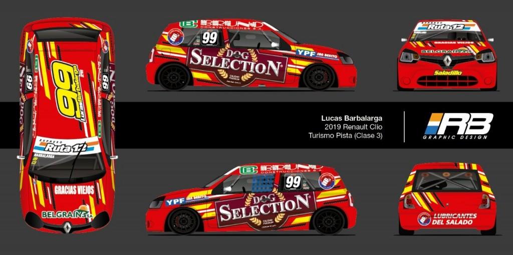 Lucas Barbalarga debuta en la Clase 3 del Turismo Pista