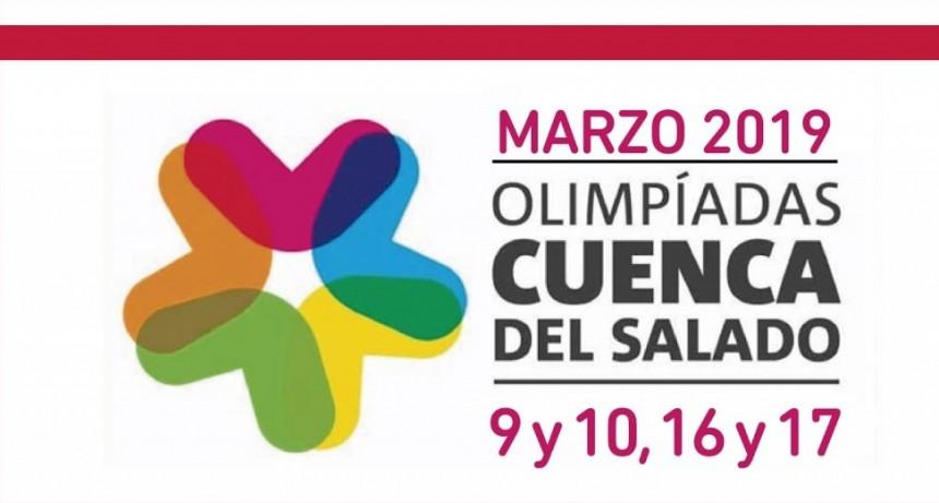 Olimpíadas Cuenca del Salado: inscriben en Saladillo