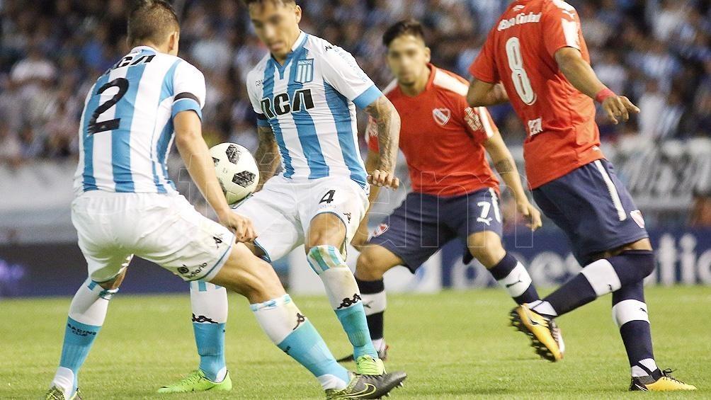 Racing e Independiente, en un nuevo clásico de Avellaneda