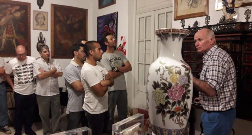 Exitosa propuesta: Se realizó la Noche de los Museos en Motos Clásicas y Antiguas
