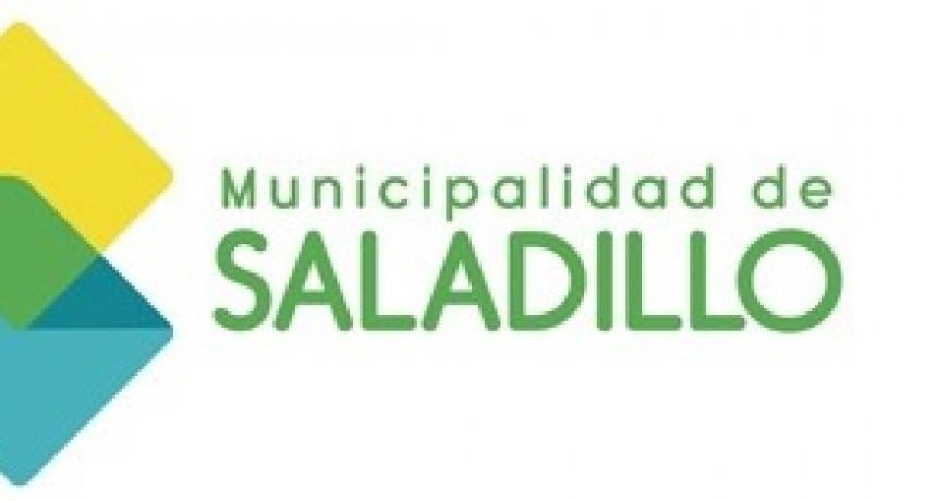 Recomendaciones del Municipio de Saladillo ante las próximas precipitaciones