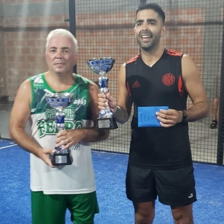 Gabriel Hernaez – Pablo Aguilar campeones de séptima categoría