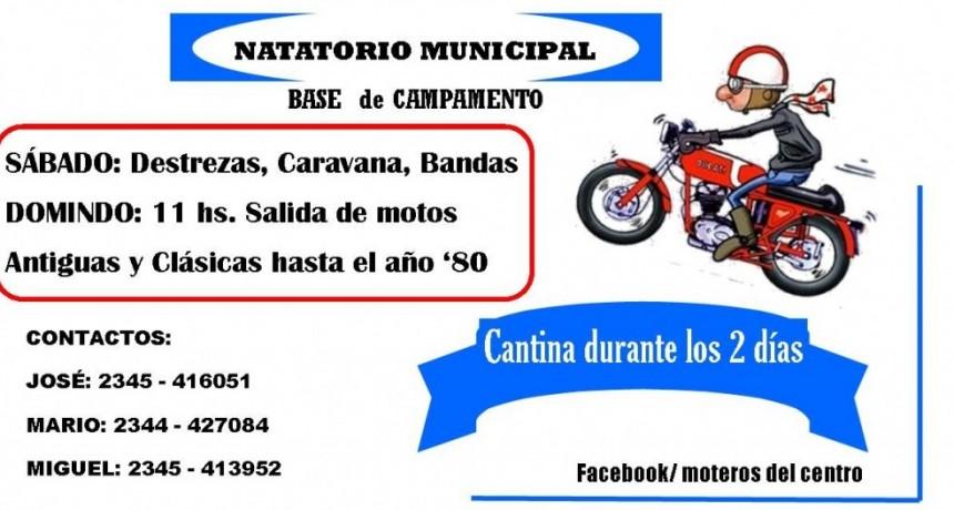 Rally para Motos Clásicas y Antiguas este domingo en Alvear