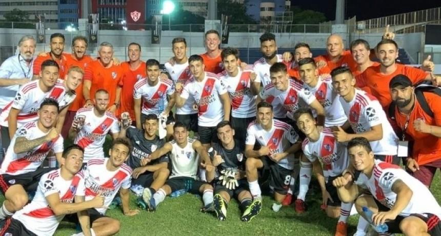 River con el saladillense Lombardi mete primera en la Copa Libertadores Sub 20