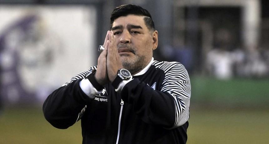 Maradona lamentó la muerte de Braian Toledo