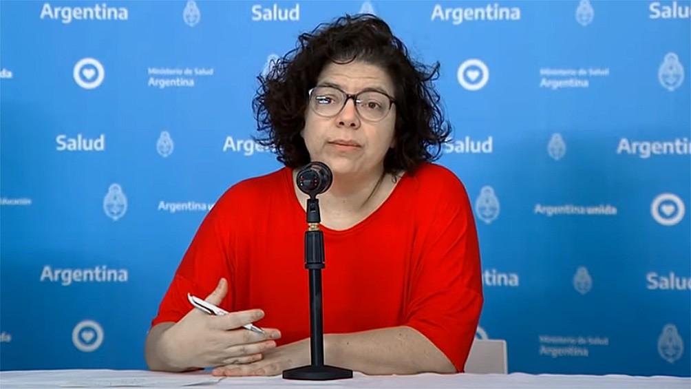 Carla Vizzotti fue designada ministra de Salud de la Nación
