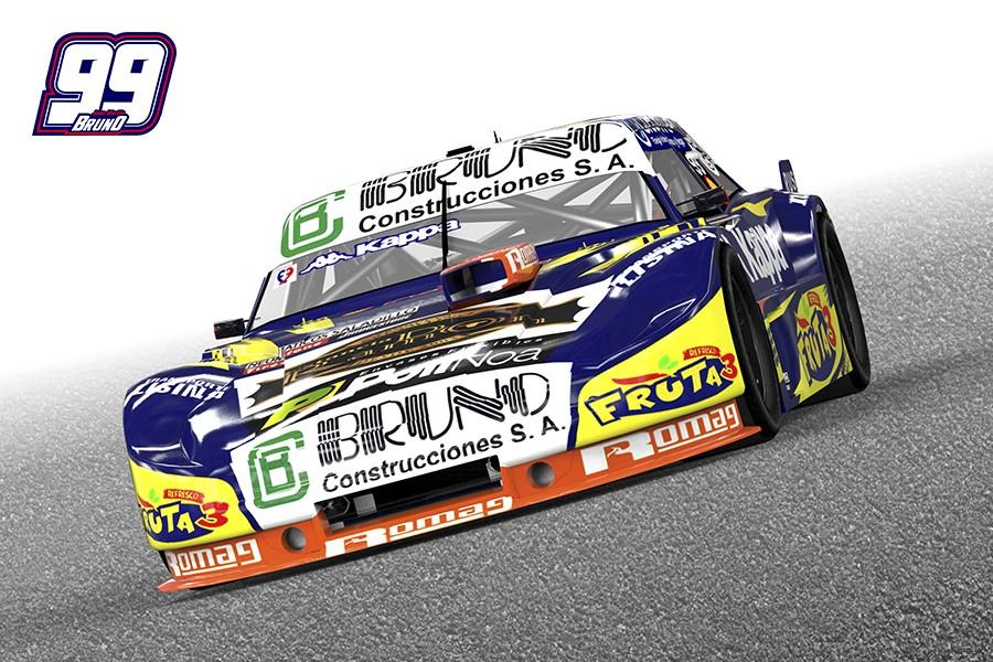 Problemas eléctricos en la Dodge de Bruno ocasionaron su abandono en la primera del TC
