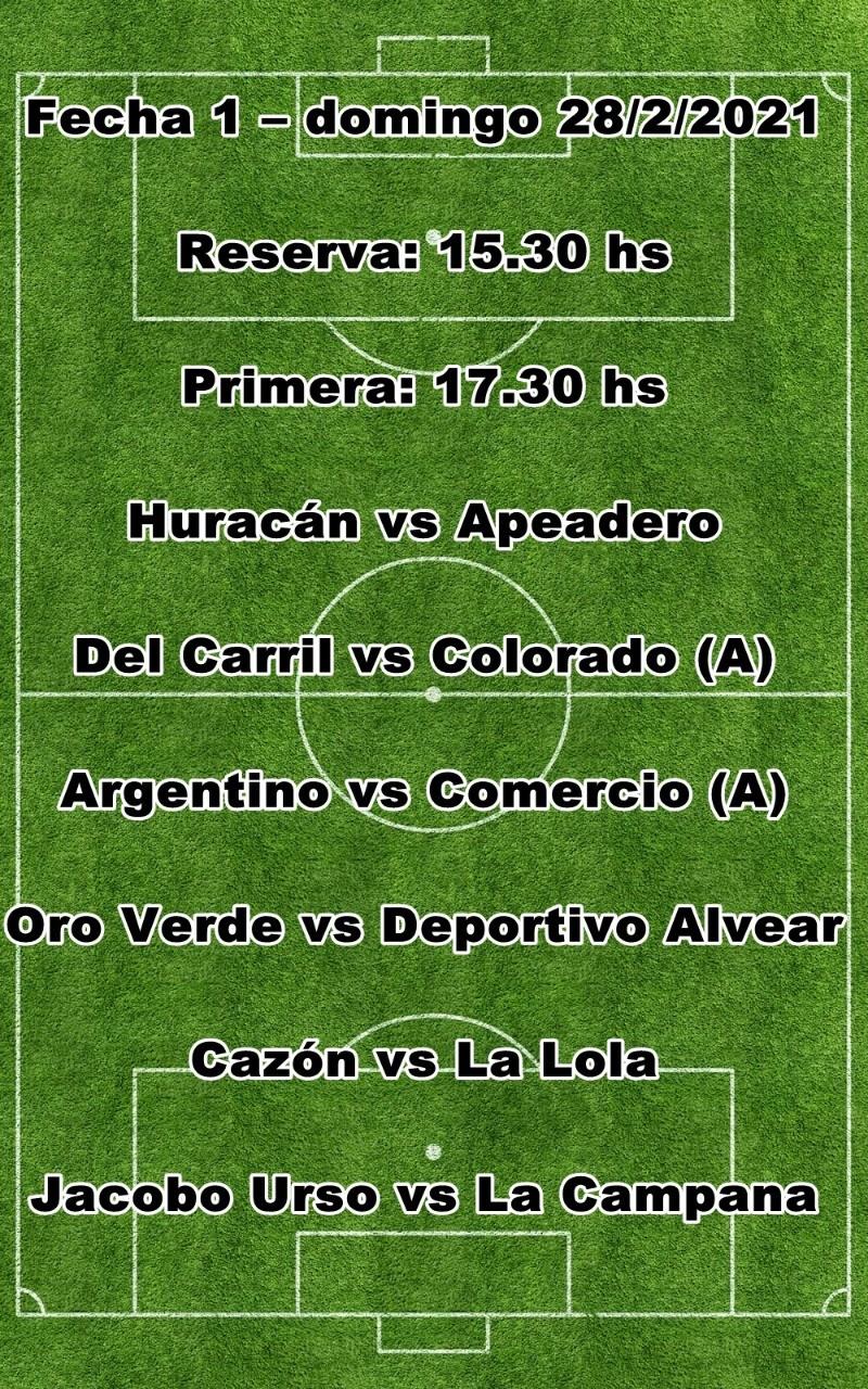 Arranca este domingo en Saladillo el Torneo de Primera División
