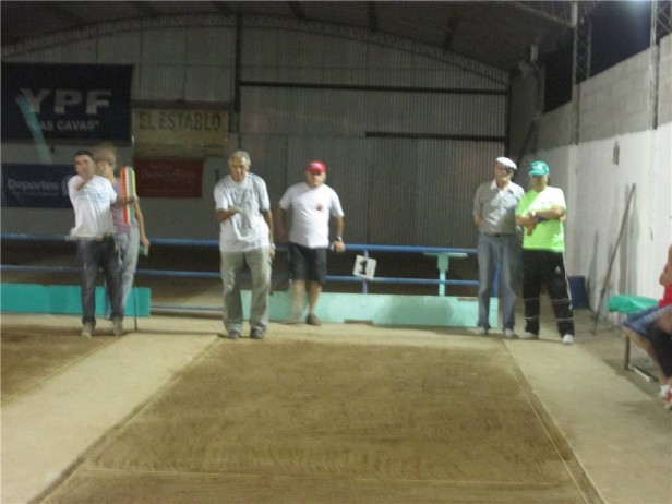 Saladillenses fueron cuartos en Bolívar en el nacional de Tejo