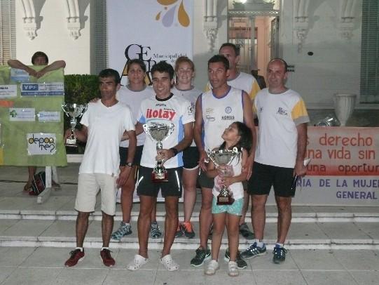 El saladillense Maximiliano Di Pascuale gano los 4K en Alvear