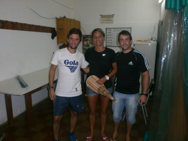 Fabiana Burgos entrenara en el Cenar con miras a la Copa del Mundo