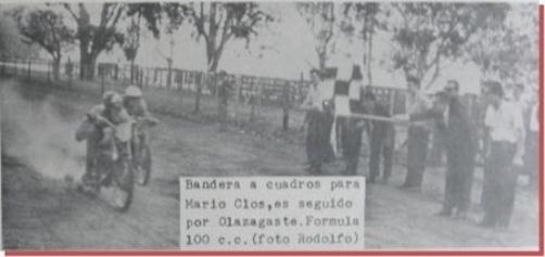 """Deportes en el Recuerdo, hoy: """"Carreras de motos en la Sociedad Rural"""""""